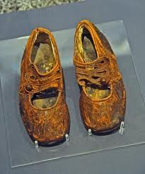 childrens shoes from the Titanic