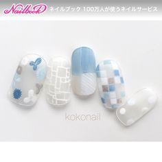 ネイル(No.1566499)|くりぬき |シースルー |シンプル |ステンドグラス |フラワー |オフィス |クリア |デート |オールシーズン |夏 |ブルー |ジェルネイル |ホワイト |ハンド |チップ |ショート | かわいいネイルのデザインを探すならネイルブック!流行のデザインが丸わかり! Cute Simple Nails, Pretty Nails, Gel Nail Art, Nail Manicure, Blue Nails, My Nails, Asian Nails, Vintage Nails, Japanese Nail Art