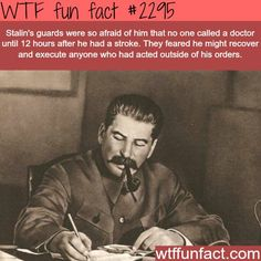 Some facts about Joseph Stalin - WTF fun facts