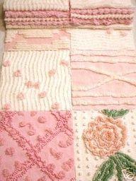 Chenille patchwork.    I love chenille.