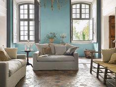 Une peinture salon pour une pièce à vivre légère et sereine