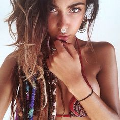 Indian septum by PataPataJewelry