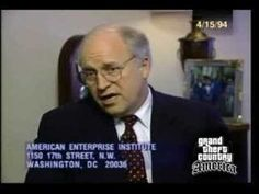 Watch: The 1994 Video Dick Cheney Doesn't Want You to See   Occupy Democrats. He thought it was a bad idea to invade Iraq until he became VP and he and Haliburton could profit from it.