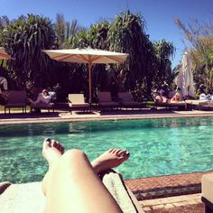 Solene Jambu @Hotel Les Deux Tours Marrakech - february 2014