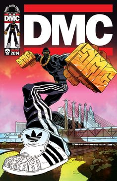 Run-DMC's Darryl McDaniels tells us how Marvel comics gave him the confidence to rap and taking his storytelling to the next level with his own independent publishing house Run Dmc, Arte Do Hip Hop, Arte Lowrider, Gangster Rap, Rapper Art, Music Artwork, Hip Hop Outfits, Hip Hop Artists, Music Artists