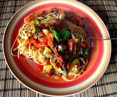 we love veggie: Sommerpasta - so not ready to be over now !!
