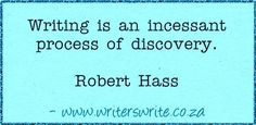 Quotable - Robert Hass - Writers Write Creative Blog