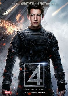 Miles Teller as Reed Richards – be seen in FANTASTIC FOUR - Marvel - Constantin - kulturmaterial