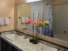 DIY Network Shows You How To Add A Frame Your Unframed Basic Bathroom Mirror