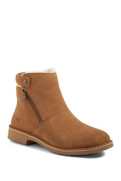 f3ff732939e UGG Australia - Kayel Genuine Shearling Lined Water Resistant Bootie
