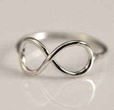Infinity Ring  Thumb Ring  Infinity by TheJewelryGirlsPlace,  so pretty...gold or silver