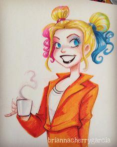 "briannacherrygarcia: "" Yes to Harley's odango-style pigtails. """