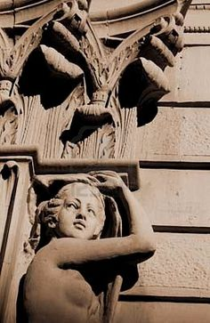 Architectural Details in Winnipeg's Exchange District Architecture Art Design, Architecture Details, Royalty Free Images, Statues, 1920s, Sculptures, Art Pieces, Stock Photos, Beautiful