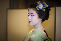 Maiko Ayano in a September evening