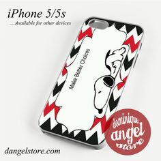 Snoopy Make Better Choice Phone case for iPhone 4/4s/5/5c/5s/6/6 plus