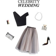 Crimson Lips & Shades: An Outfit Fit For A Celebrity Wedding