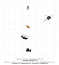 Portrait photo and lighting setup with Strobe and Softbox by Konrad Grymin (1/160 sec., f/2.5, ISO: 100)