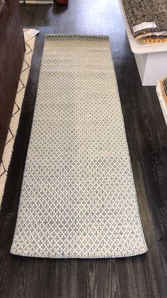 Mic-Mac Grey Runner Mic-Mac Grey Hallway Rug by Angelo, a flat-woven pure New Zealand wool rug that is reversible i. Gray Runner Rug, Long Runner Rugs, Runner Runner, Sisal, Hallway Rug, Grey Hallway, Entryway Rug, Hallway Runner, Braided Rag Rugs