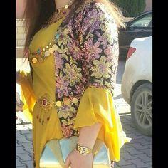 Yellow and pinkish krasi kurdi