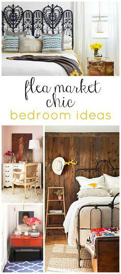 Flea Market Chic Bedroom Ideas