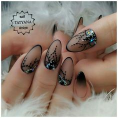 76 Pretty and Delicate Floral Nail Designs - Page 74 of 76 - Lily Fashion Style Corset Nails, Lace Nails, Bling Nails, Diy Nails, Lace Nail Art, Nail Art Blue, Beautiful Nail Art, Gorgeous Nails, Nagel Bling