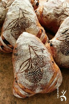 The millet-wine, rose-petal and dried-lychee bread won first prize at the prestigious 2010 Les Masters de la Boulangerie contest in France. Hard Bread, Bread Shaping, Bread Art, Our Daily Bread, Bread And Pastries, Dessert Bread, Sourdough Bread, Artisan Bread, Bread Rolls