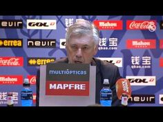 Sergio Ramos Ancelotti assessed Real Madrids victory over Rayo in the press room