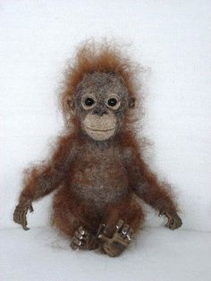 Felt orangutan!