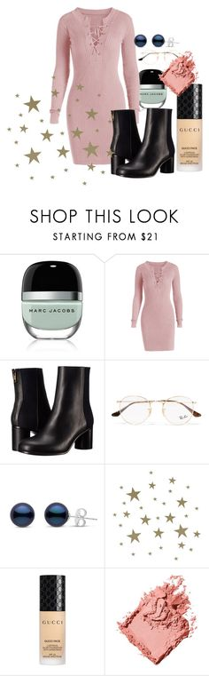 """""""Untitled #1811"""" by cashtonlv on Polyvore featuring Marc Jacobs, Paul Smith, Ray-Ban, ferm LIVING, Gucci and Bobbi Brown Cosmetics"""