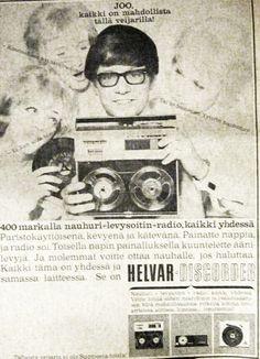 Helvar-mainos, 1965