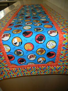 Best of Show Dogs Table Runner by SewcialStudies101 on Etsy