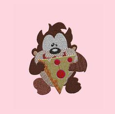 Progettazione Ricamo - Embroidery Design: Baby Looney Tunes - Taz di CamieRicami su Etsy