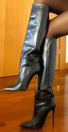 Stiletto Boots, High Heel Boots, Heeled Boots, Beige Boots, Black Boots, White Thigh High Boots, Extreme High Heels, Sexy Boots, Fashion Boots
