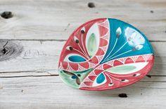Vintage Elle Norway Scandinavian Hand Painted Dish by HouseofSeance