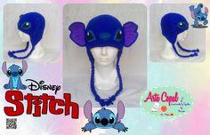 #gorro a #crochet #ganchillo #tejido #stitch #disney Bueno terminado mas no lo había publicado