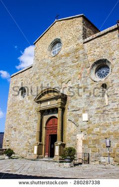 #Cortona #Cathedral, (Duomo di Cortona) dedicated to the Assumption of the Blessed Virgin Mary, in #Italy #microstockita