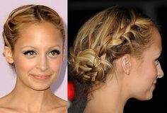 updated heidi updo, nicole richie