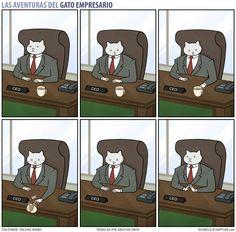 Las Aventuras Del Gato Empresario/ The Adventures Of Business Cat.