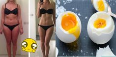 Jedz 3 jajka dziennie i chudnij!