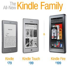 Kindle Family - All New for you :)