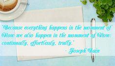 joseph rain quote