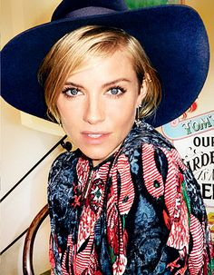 Sienna Miller Covers Vogue