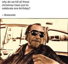 Charles Bukowski, Mirrored Sunglasses, Funny Stuff, Instagram, Fashion, Funny Things, Moda, La Mode, Fasion