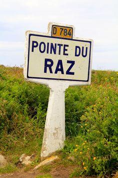 Pointe du Raz... un endroit unique qui te permet d'aller au bout de toi <3