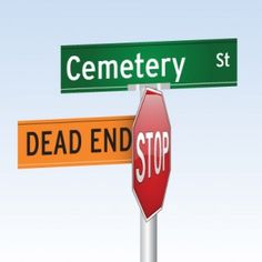 Cemetery Street is a Dead End in San Antonio, Texas! (and other funny road signs) | onstarconnections.com | #funny #road #signs #humor #onstar