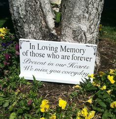 Wedding Signs -- In Loving Memory - We Know You Would Be Here Today If Heaven…