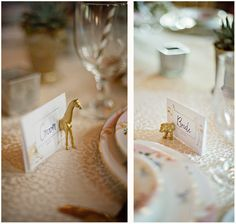 Wedding Escort Card Holders - Pick your animals - 25 full holders