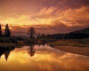 Deadwood River Sunrise   Leland Howard