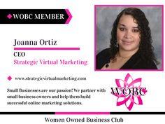 WOBC Member : Joanna Ortiz - CEO - Strategic Virtual Marketing