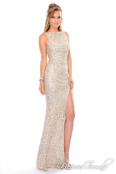 Style L9062 - Lux Gal Collection by Precious Formals Prom Gowns 2014